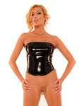 Anita Berg AB4385 Latex blouse w. zipper
