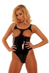 Latex Bodysuit breast free